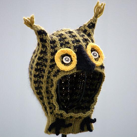 little owl baby hat